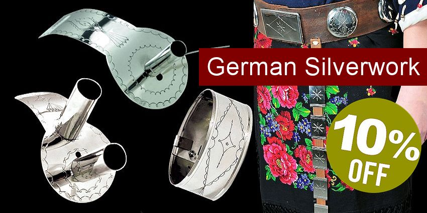 Plains-Style German Silverwork - Save 10%