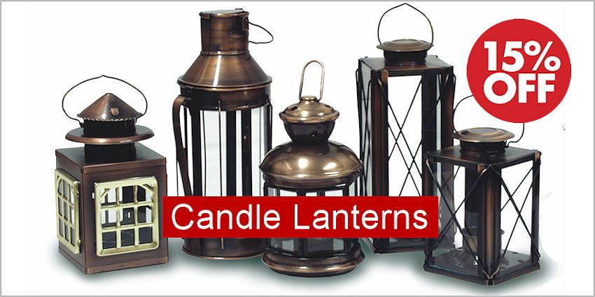 Candle Lanterns Sale - Save 10% - 20%