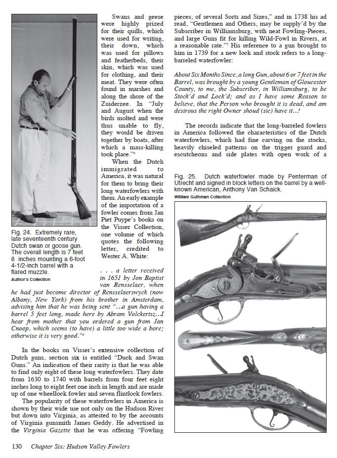 Flintlock Fowlers: The First Guns Made in America, by Tom