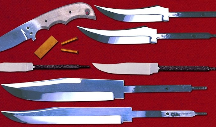 Steels used in Crazy Crow Knife Blades