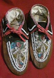 Native American Indian Moccasins