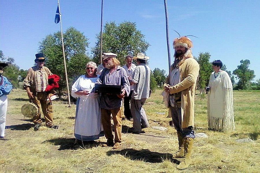 1838 Mountain Man Rendezvous - 1838 Rendezvous Association - Wind River Heritage Center