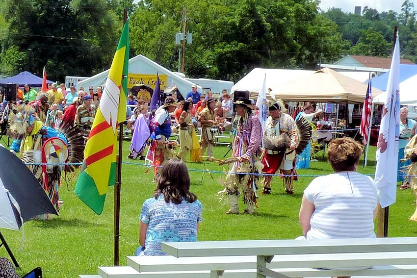 Wolf Creek Indian Village Intertribal Pow Wow - Old Bland County Fair Grounds - Near River Dwellers