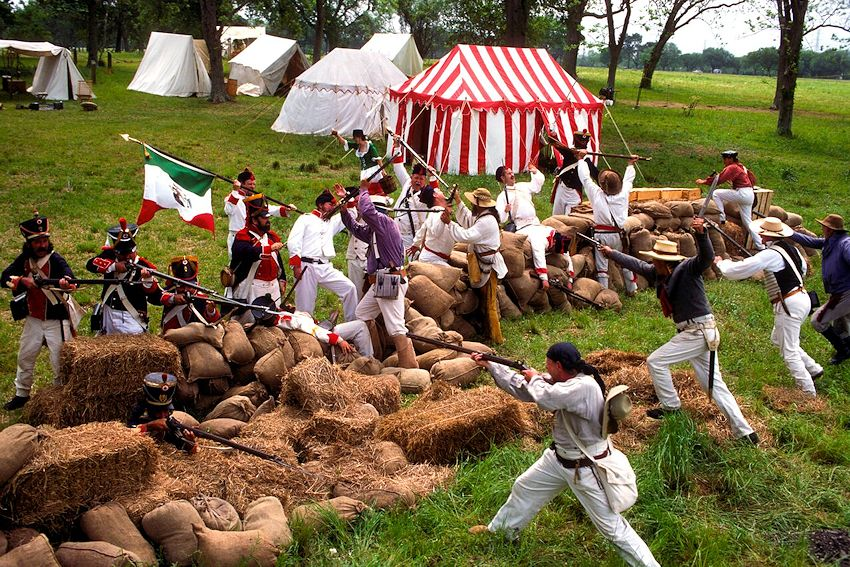 San Jacinto Day Festival and Battle Reenactment - San Jacinto Battleground State Historic Site - San Jacinto Museum of History Association