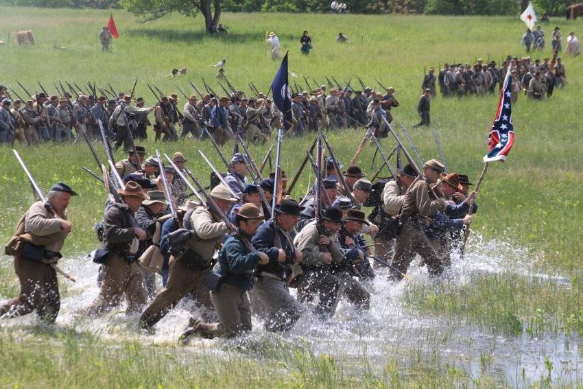 Battle of New Market Reenactment