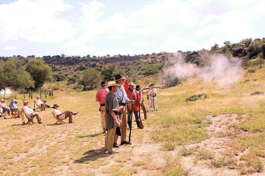 Virgil Baldwin Memorial Rendezvous - Davis Mountain Brigade - Evans Mulhern Ranch