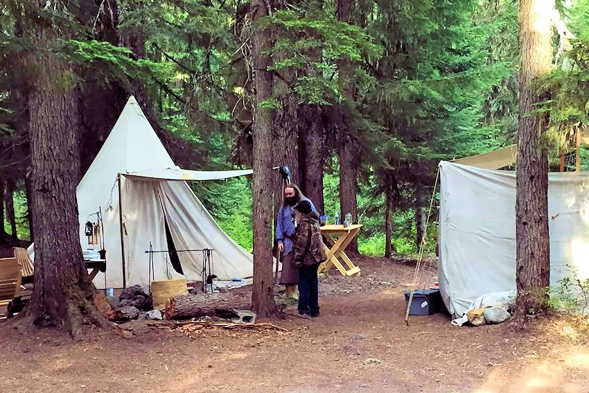 Barlow Trail Long Rifles Rendezvous - Sandy Oregon Rendezvous