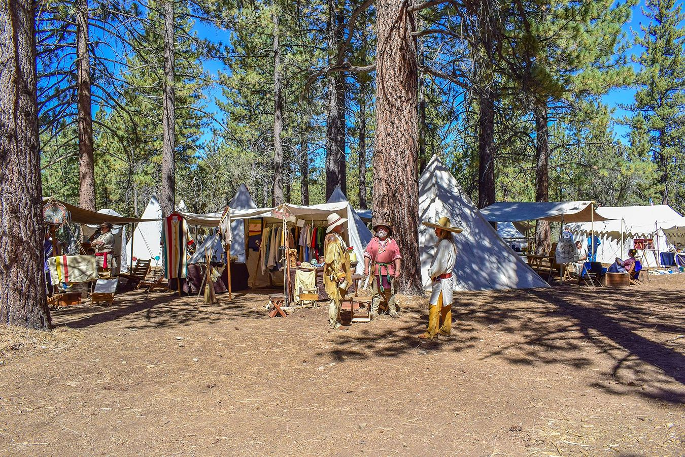 Big Horn Mountain Men Rendezvous