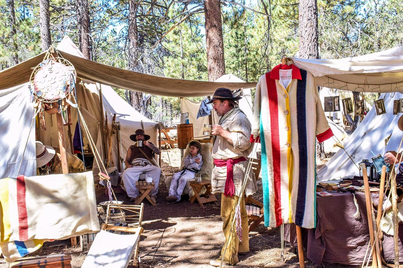 Big Horn Mountain Man Rendezvous