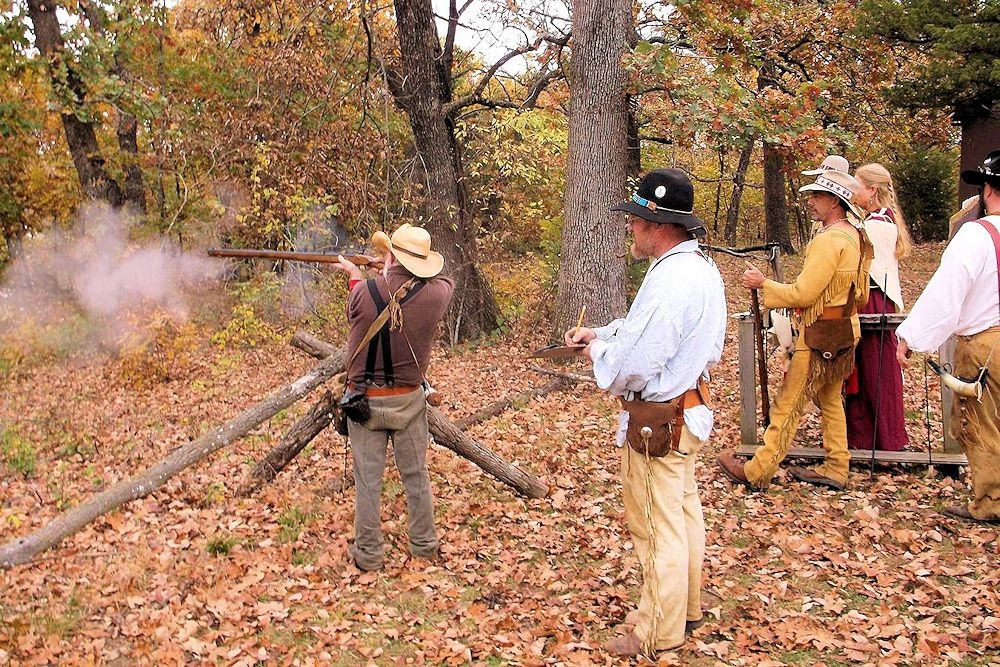 Chief Black Dog's Trail Muzzleloader Club Fall Rendezvous