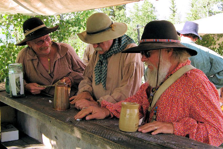 Como Mountain Man Rendezvous - Como, Colorado