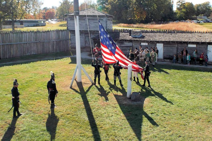 Fall Muster at Fort Osage - Society of Friends of Fort Osage - Fort Osage Historic Landmark