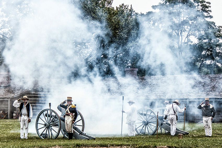Fort Atkinson State Historical Park - The Friends of Fort Atkinson - Fort Atkinson Living History Weekend in September