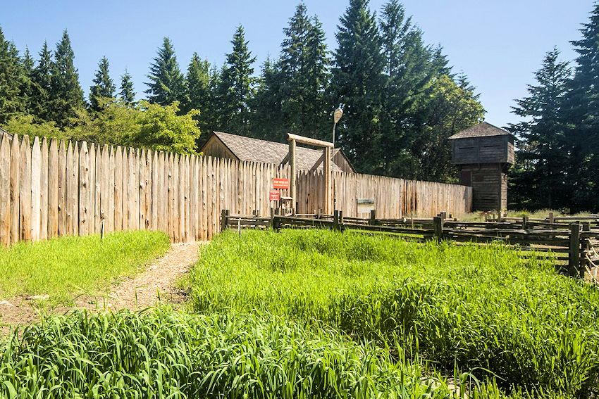 Fort Nisqually Living History Museum Brigade Encampment - Tacoma Washington