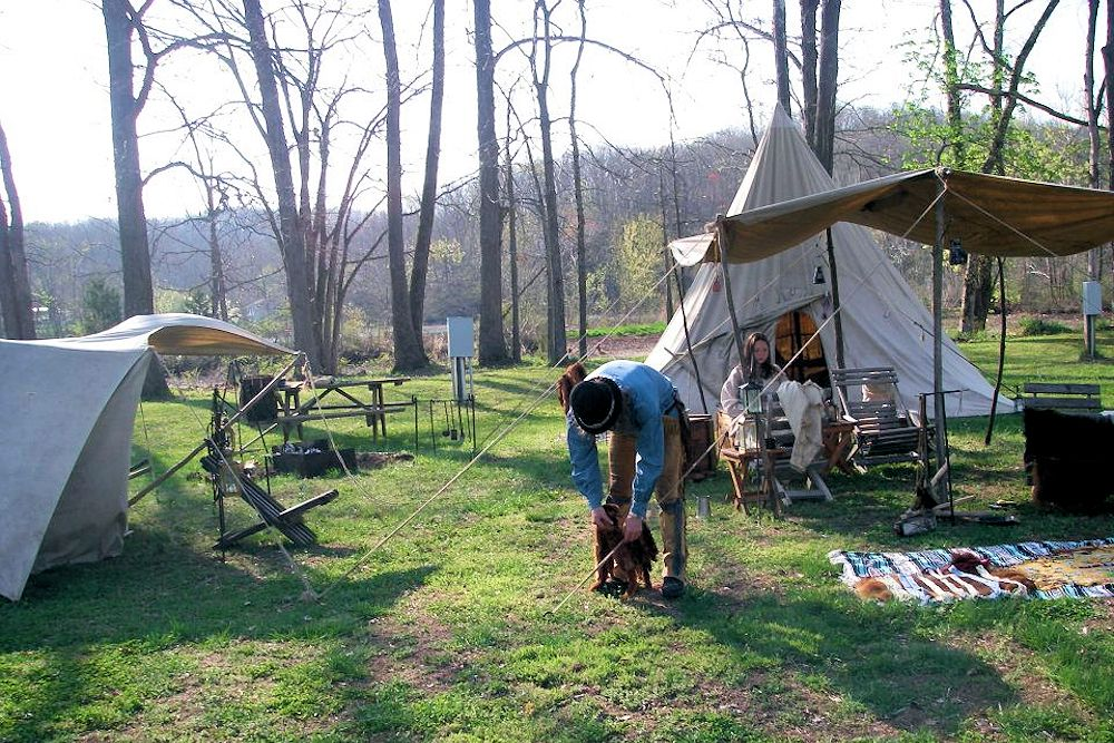 Little Niangua Mountain Man Fall Rendezvous