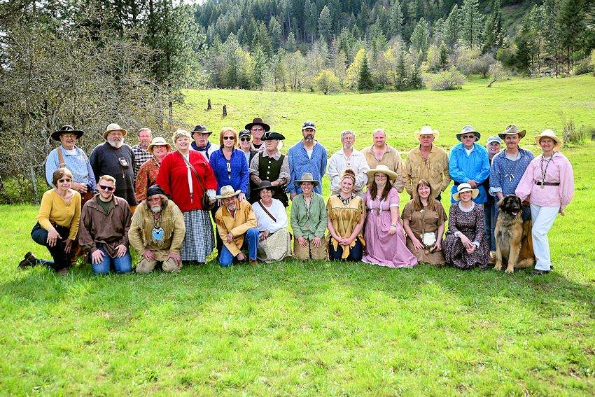 Lolo Trail Muzzleloader Club Spring Fling - Wolvertons Cabin - Lolo Trail Muzzleloader Club - Orofino Chamber of Commerce