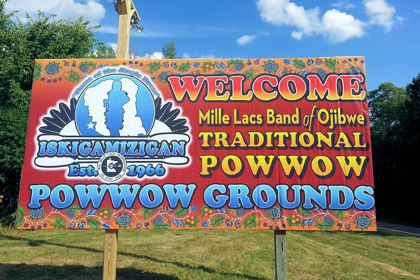 Mille Lacs Band of Ojibwe Traditional Powwow - Iskigamizigan Powwow Grounds