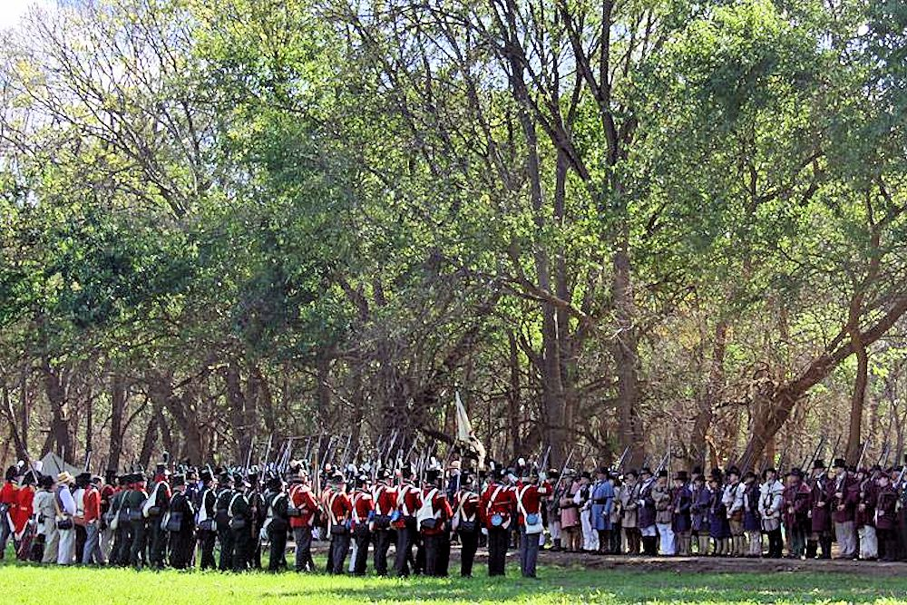 Mississinewa 1812 Battle Reenactment - Mississinewa Battlefield - Mississinewa Battlefield Society Inc