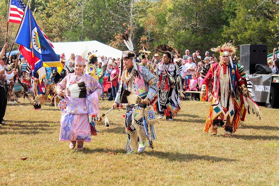 NAIA Pow Wow - NAIA Education Pow Wow and Fall Festival - Long Hunter State Park - Native American Indian Association of Tennessee