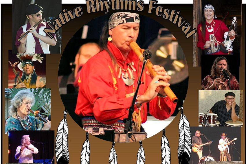 Native Rhythms Festival - Indian River Flute Circle - Native Heritage Gathering, Inc. - Melbourne Florida