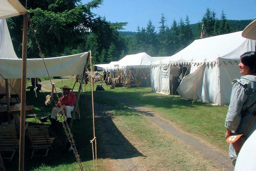 Peninsula Long Rifles Rendezvous in Washington