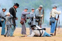 Battle of Charleston Reenactment & Military Timeline