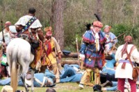 Dade Battle Reenactment - Seminole War Reenactment