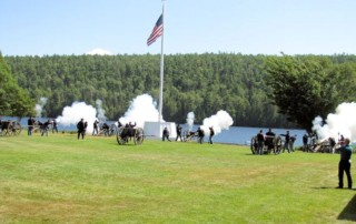 Fort Wilkins Civil War Encampment - Fort Wilkins Historic State Park - Fort Wilkins Natural History Association