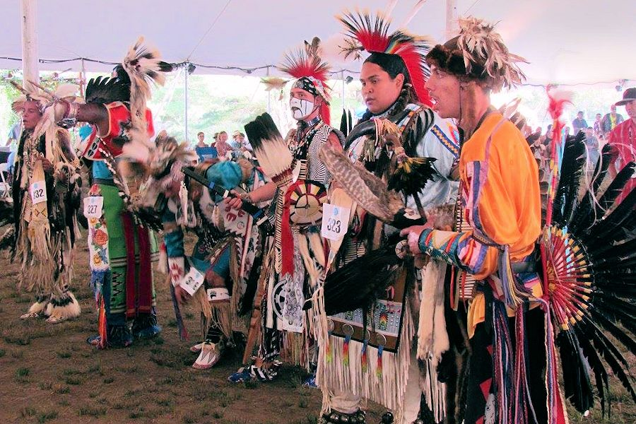 A scene from the 2018 Mohegan Wigwam Festival in Uncasville, Conn. (Photo: crazycrow.com)