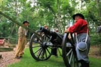 Civil War Battle Reenactment in Renfrew Pk