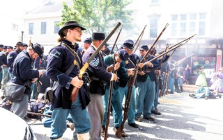 Renfrew Park Civil War Reenactment