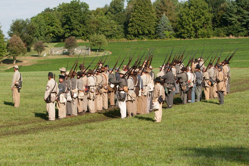 Renfrew Park Civil War Reenactment - Renfrew Museum and Park - 139th PVI (Pennsylvania Volunteer Infantry)