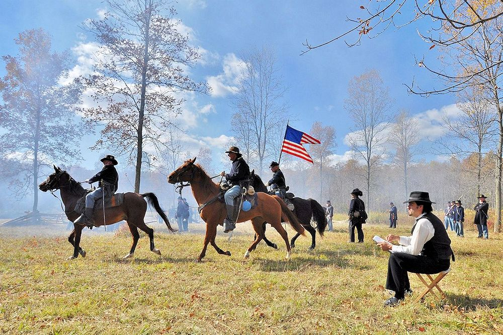 Wade House Civil War Weekend in Greenbush