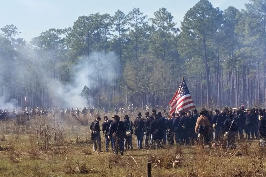 Olustee Battle Reenactment - Olustee Battlefield Historic State Park