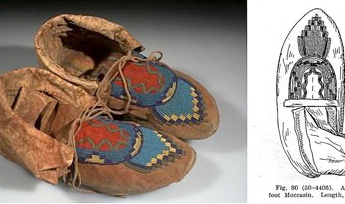 How to Make Blackfoot Moccasins - Based on Clark Wissler excerpt