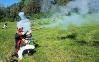 Battle of Dollinger Farm 1776 Revolutionary War Reenactment