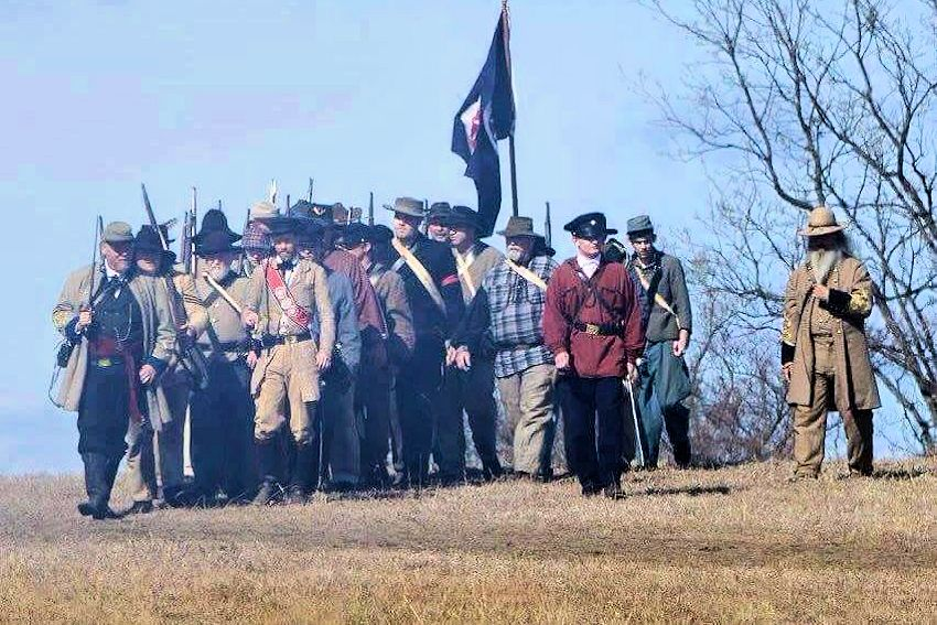 Battle of Round Mountain Reenactment - First Assembly of God - Jim Thorpe Memorial Foundation