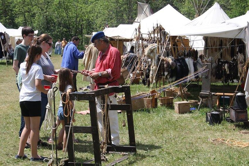 Cannon River Rendezvous - Twin Cities Muzzle Loaders Club - Whitson Family Farm Rendezvous Site