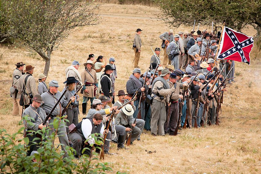 Fort Stevens Civil War Reenactment - Northwest Civil War Council - Fort Stevens State Park