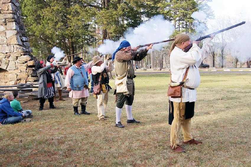 Petit Jean Mountain Rendezvous - Petit Jean State Park - Early Arkansas Reenactors Association