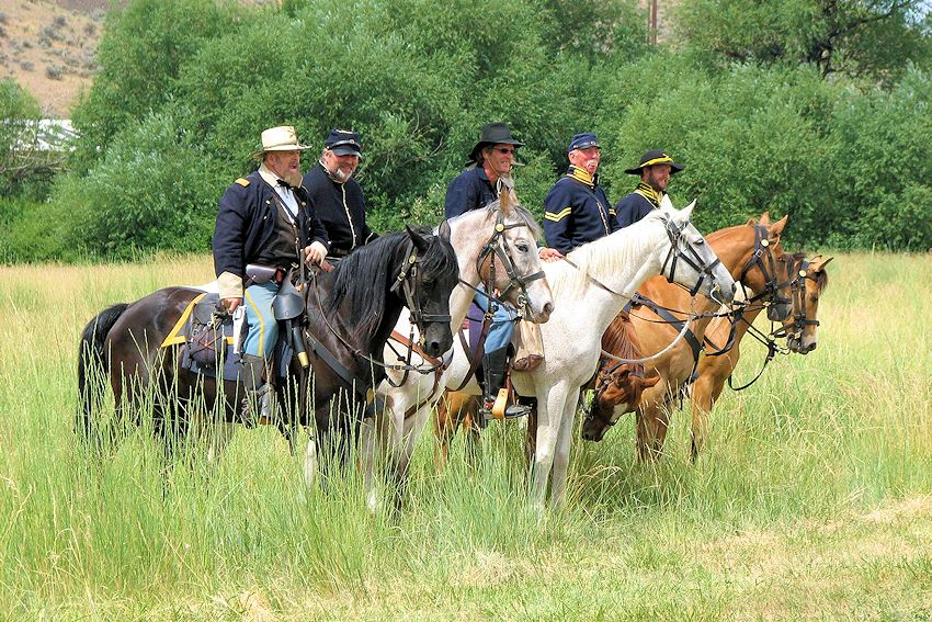 Union Gap Fullbright Park - Union Gap Union Gap Old Town Days Civil War Reenactment - Battle for the Gap - Union Gap Tourism - Fullbright Park - Washington Civil War Association