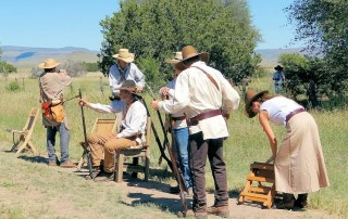 Davis Mountains Brigade Fall Rendezvous - Evans Mulhern Ranch - Fort Davis, TX
