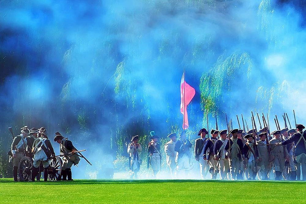 Cantigny Revolutionary War Reenactment Gallery