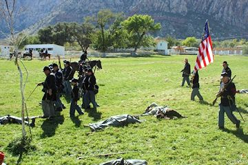 Civil War Days in the Battle Born State - Spring Mountain Ranch State Park - Southern Nevada Living History Association