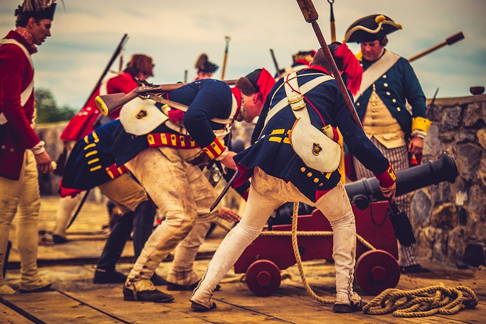 Fort Ticonderoga Browns Raid Reenactment