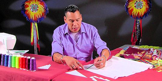 CATV Show Making Regalia with Juaquin Lonelodge