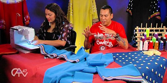 Episode 5 - Season 2: CATV Show Making Regalia with Juaquin Lonelodge