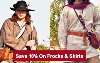 Longhunter & Mountainman Frocks & Shirts Sale
