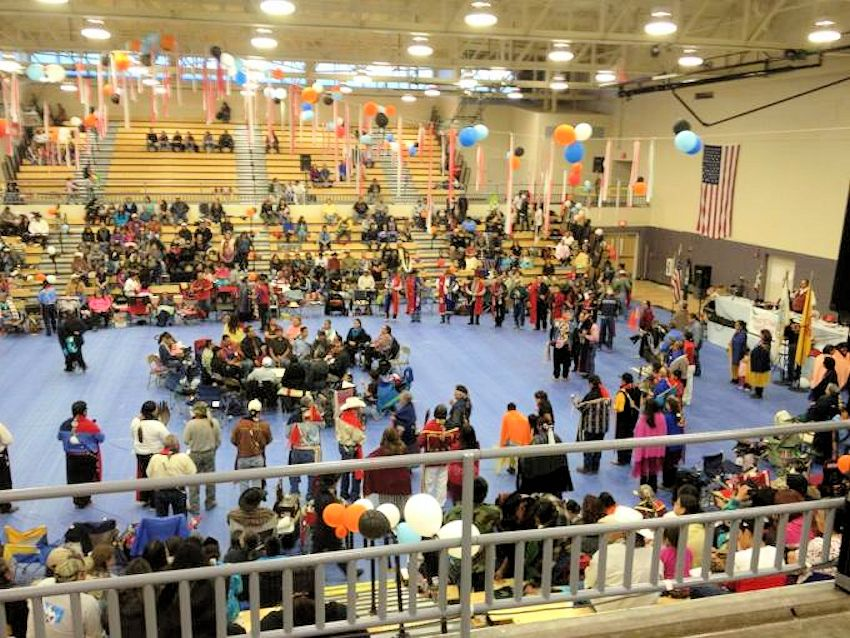 NCI New Years Eve Sobriety Gourd Dance and Powwow - Na Nizhoozhi Center - Miyamura High School