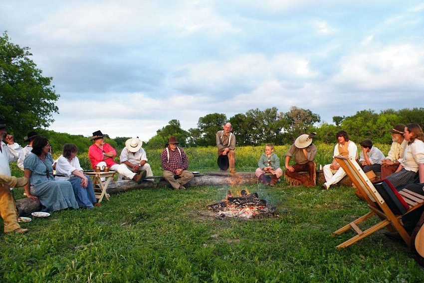 Texas Free Trappers Rendezvous - White Smoke Company of Buckskinners - Texas Free Trapper Rendezvous Site